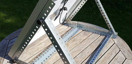zeitgesteuerte heuf tterung mit raufomat solar mit. Black Bedroom Furniture Sets. Home Design Ideas